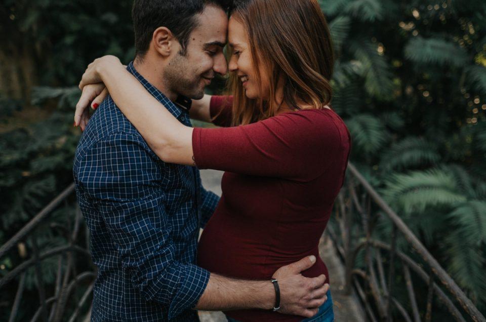 Sesión embarazo en Málaga: Patri & Michael